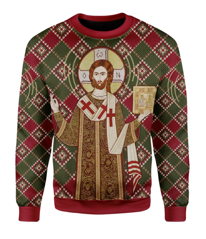 Orthodox Christianity ugly sweater