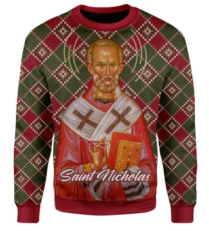 Saint Nicholas ugly sweater