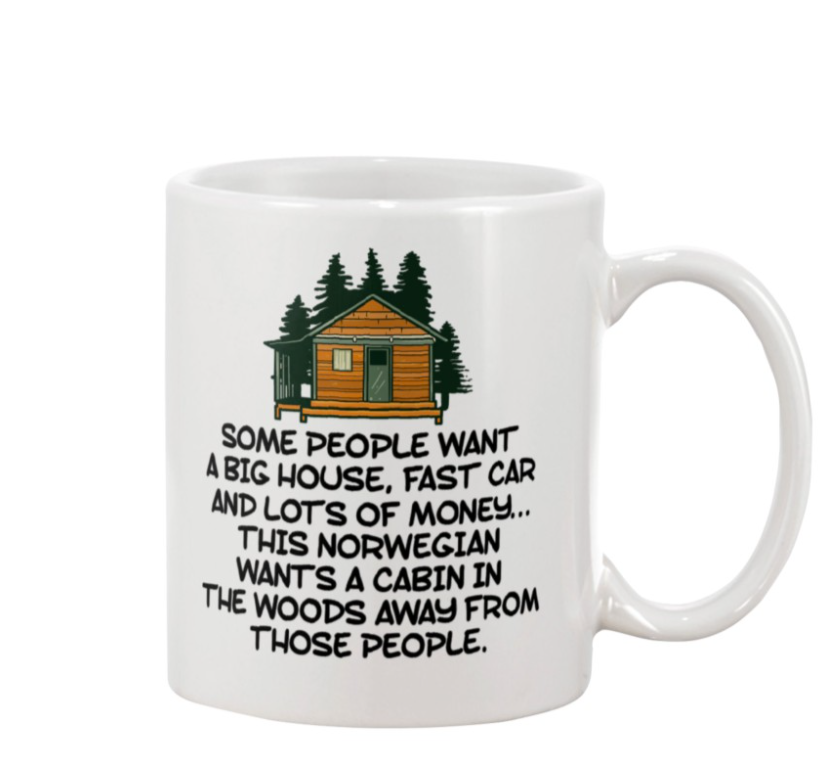 Some people want a big house fast car and lots of money mug