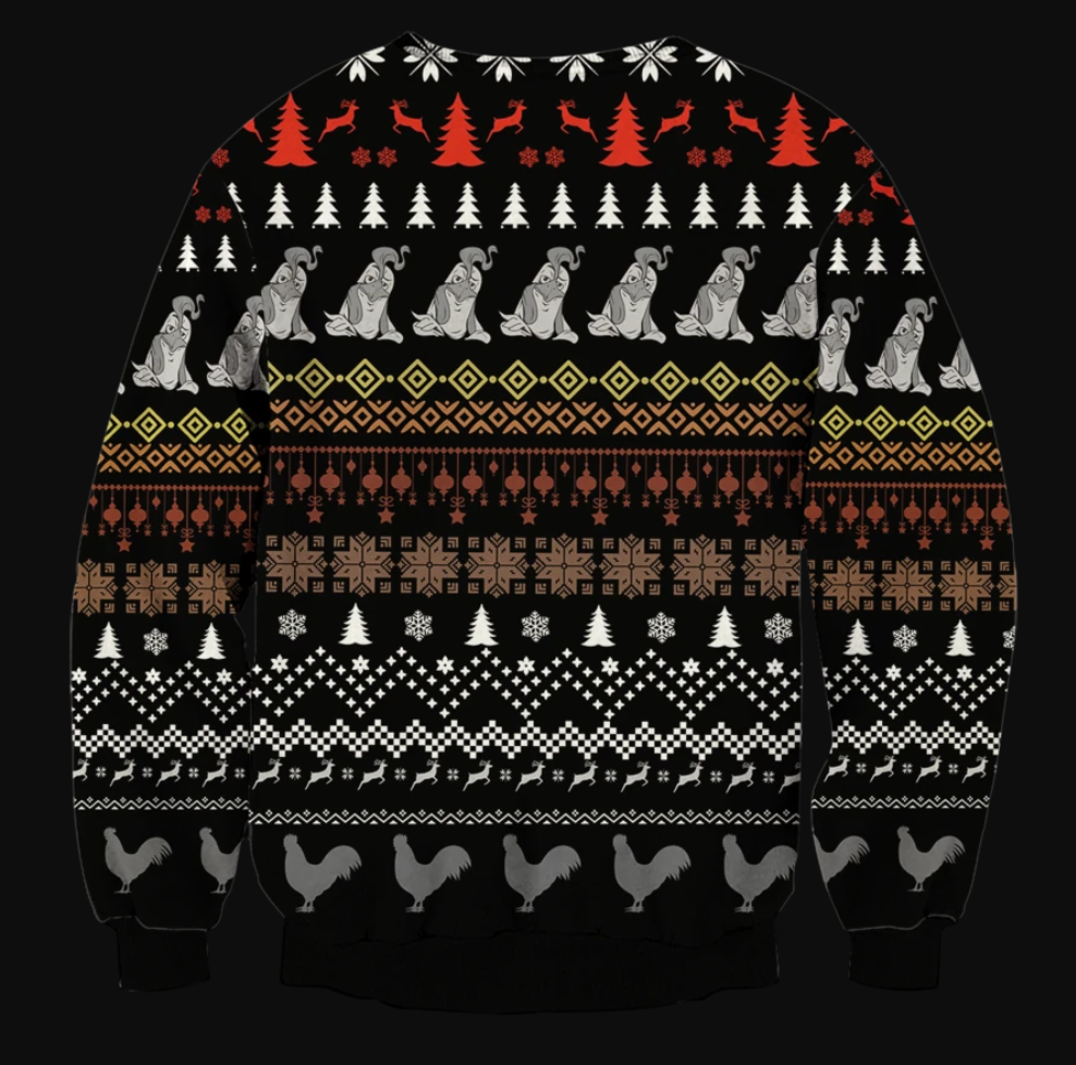 Stop looking at my cock ugly sweater 1