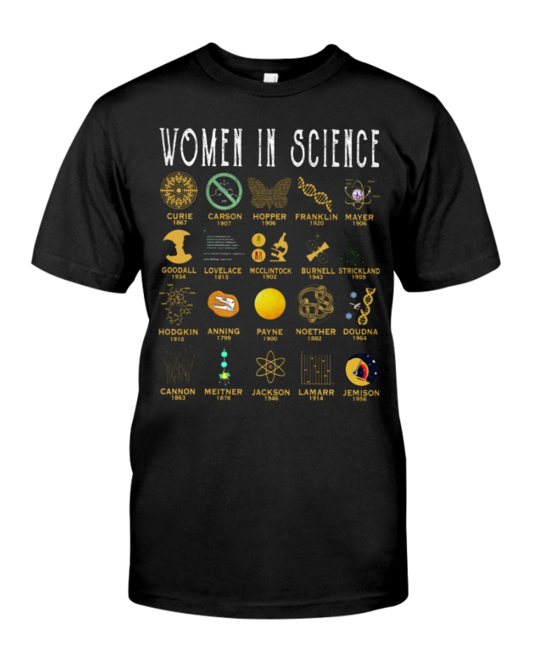 Women in science shirt