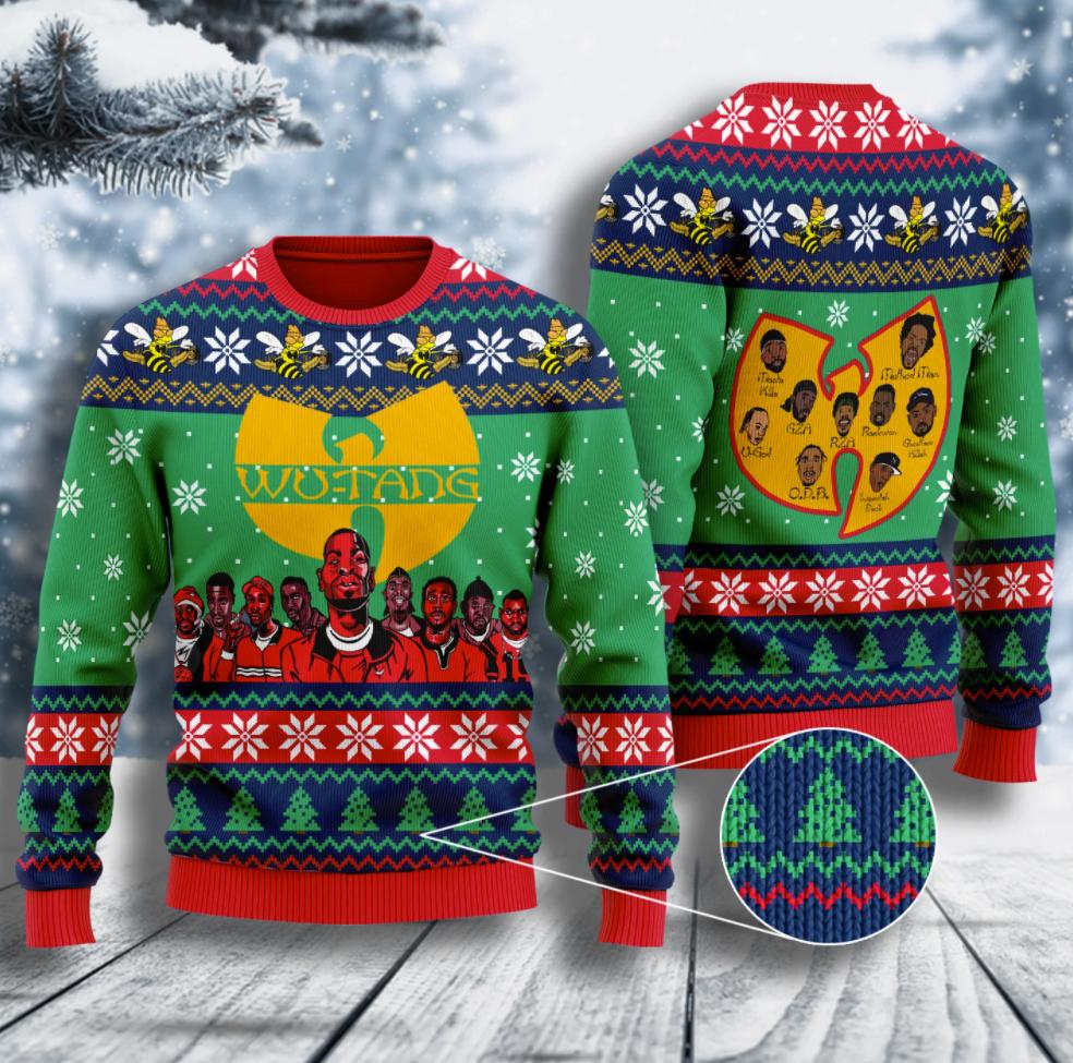 Wu Tang Clan killer bee ugly sweater