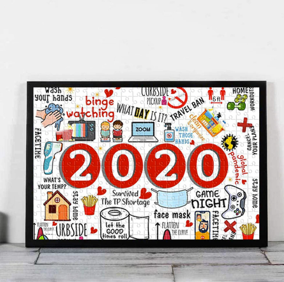 2020 a year to forget jigsaw puzzle