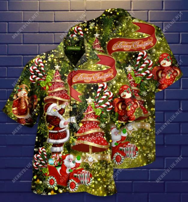 Believe In Magic Of Christmas hawaiian shirt