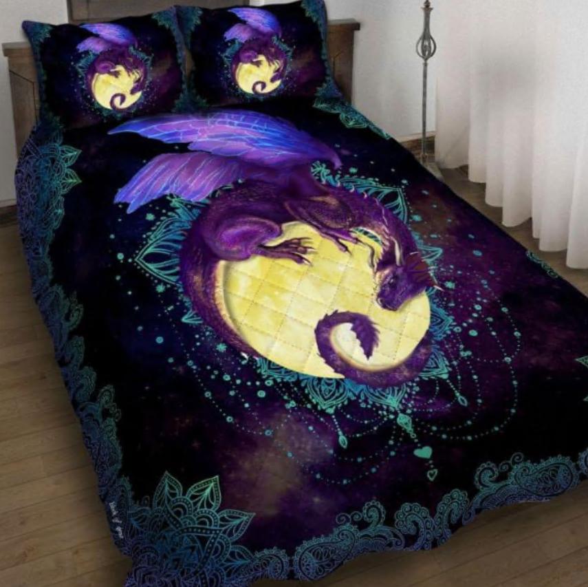 Dragon of the moon bedding set