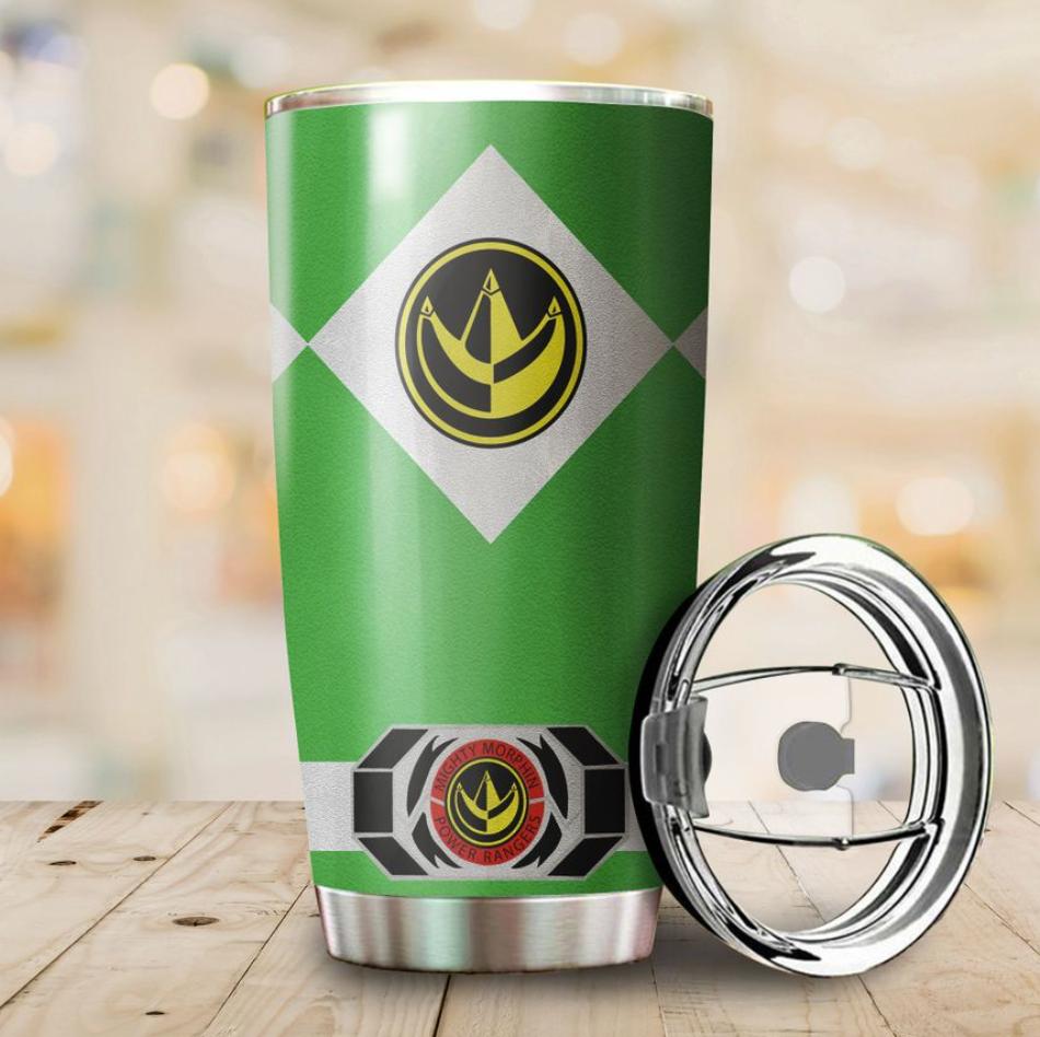 Green Power Ranger tumbler