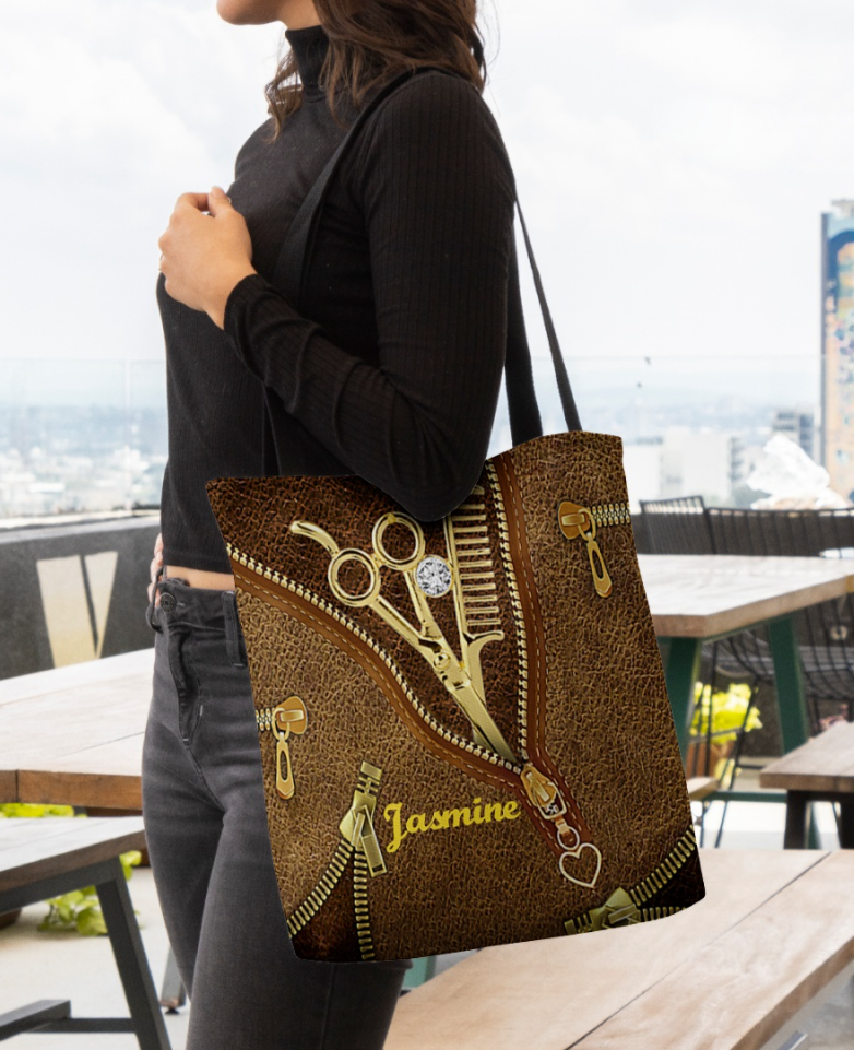 Hairstylist Tools tote bag