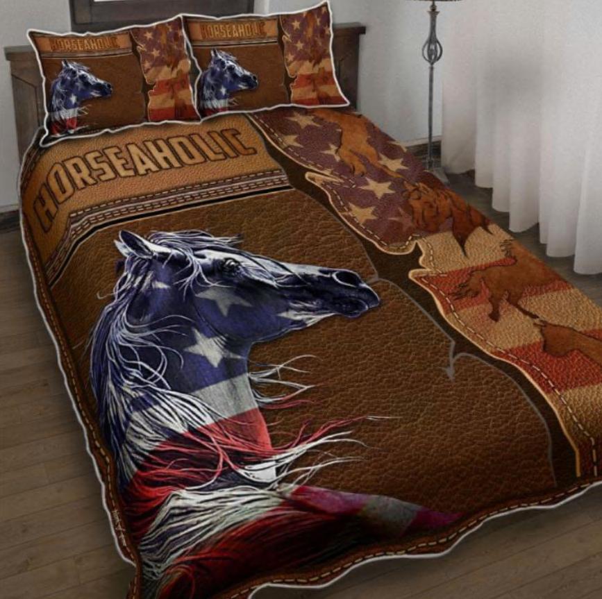 Horseaholic bedding set