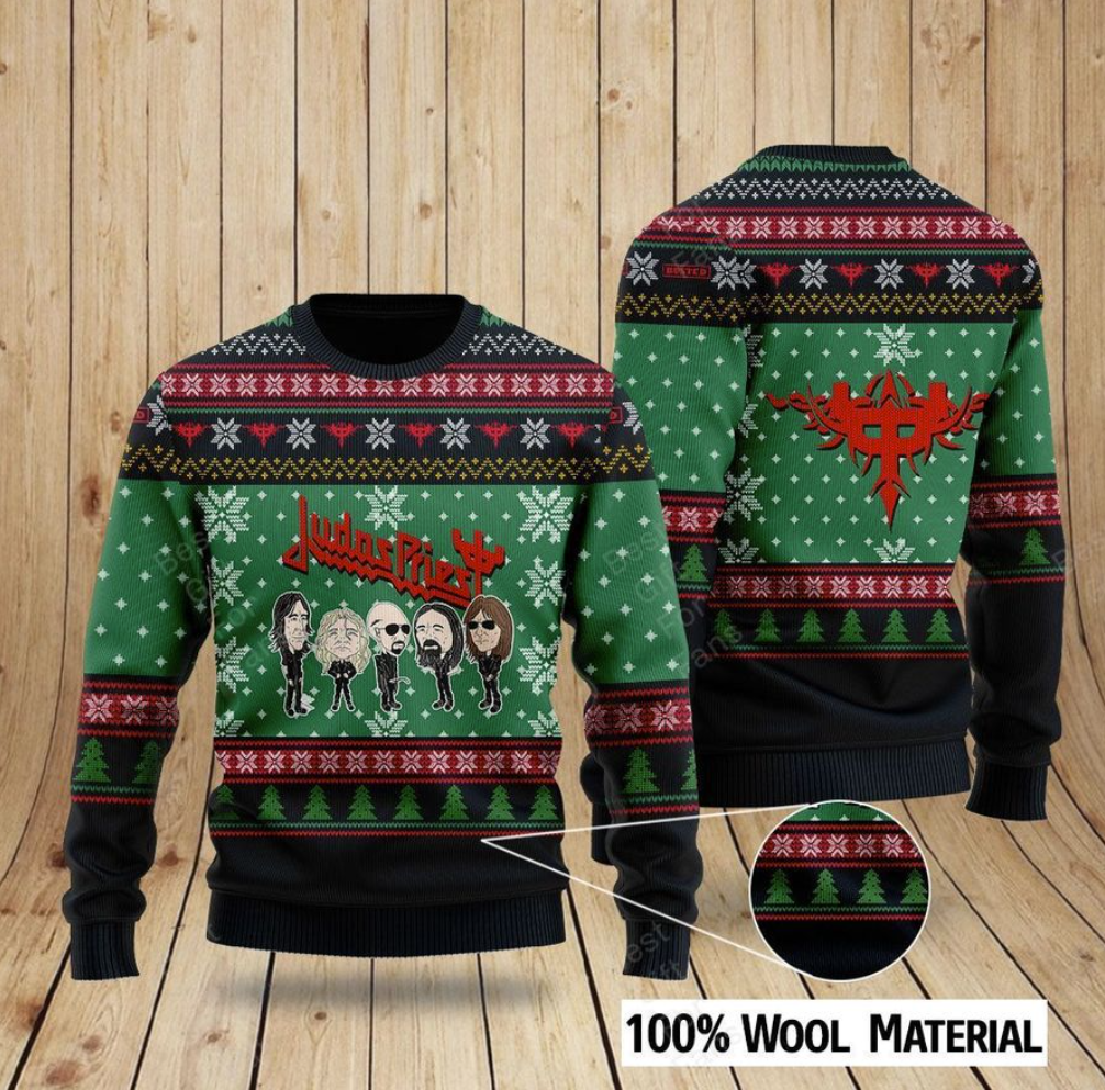 Judas Priest ugly sweater