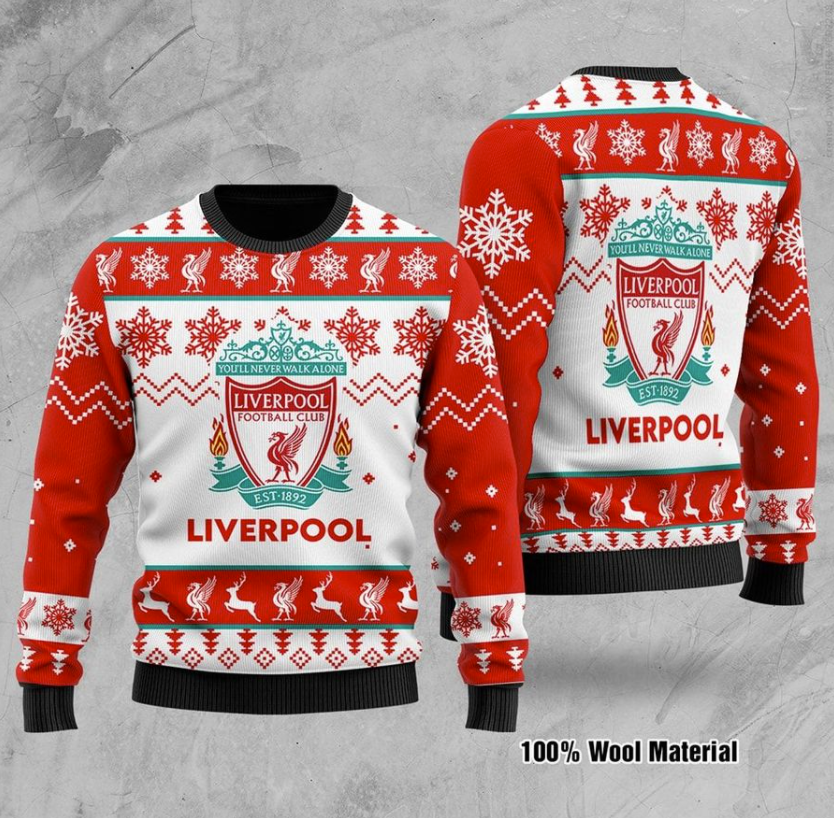 Liverpool FC ugly sweater