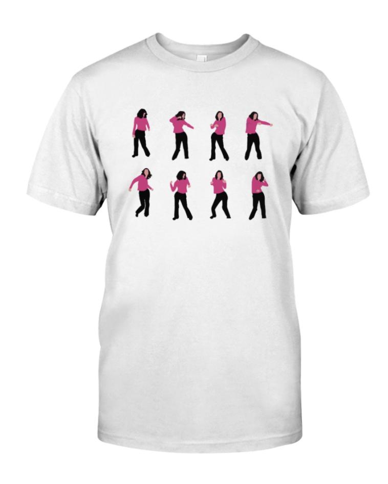 Monica dance shirt