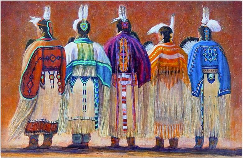 Native Woman poster