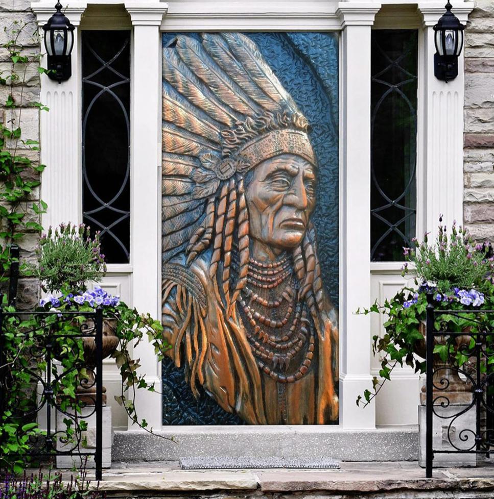 Native door cover