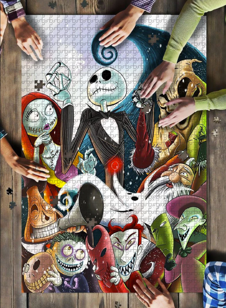 Nightmare before Christmas jigsaw puzzle