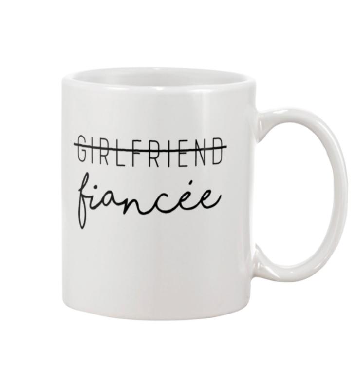 Not girlfriend fiance mug