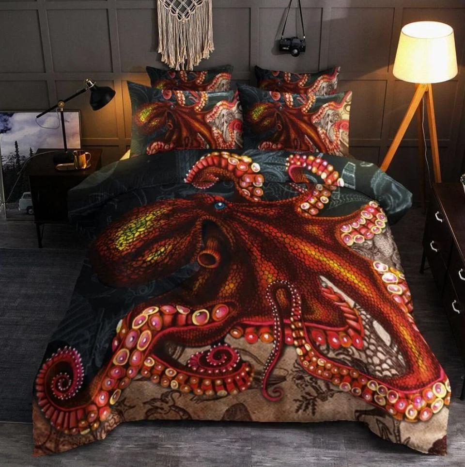 Octopus bedding set