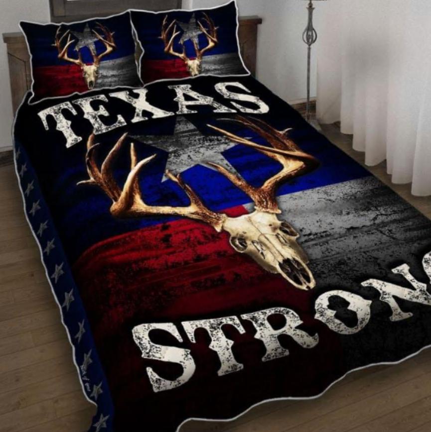 Texas strong bedding set
