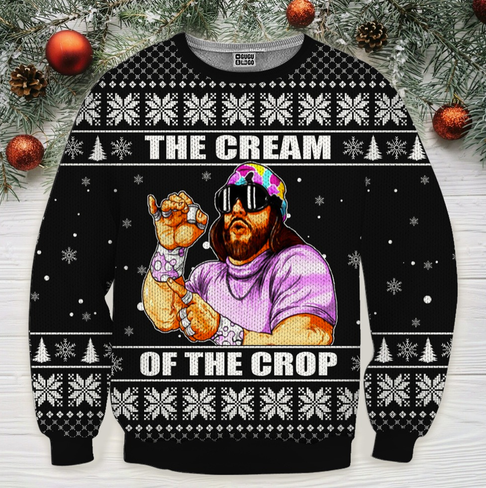 The cream of the crop ugly sweater