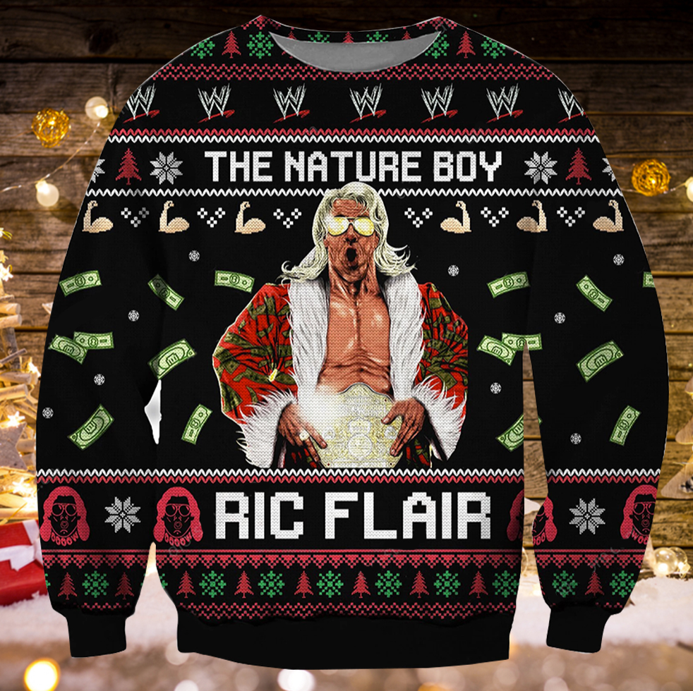 The nature boy Ric Flair ugly sweater