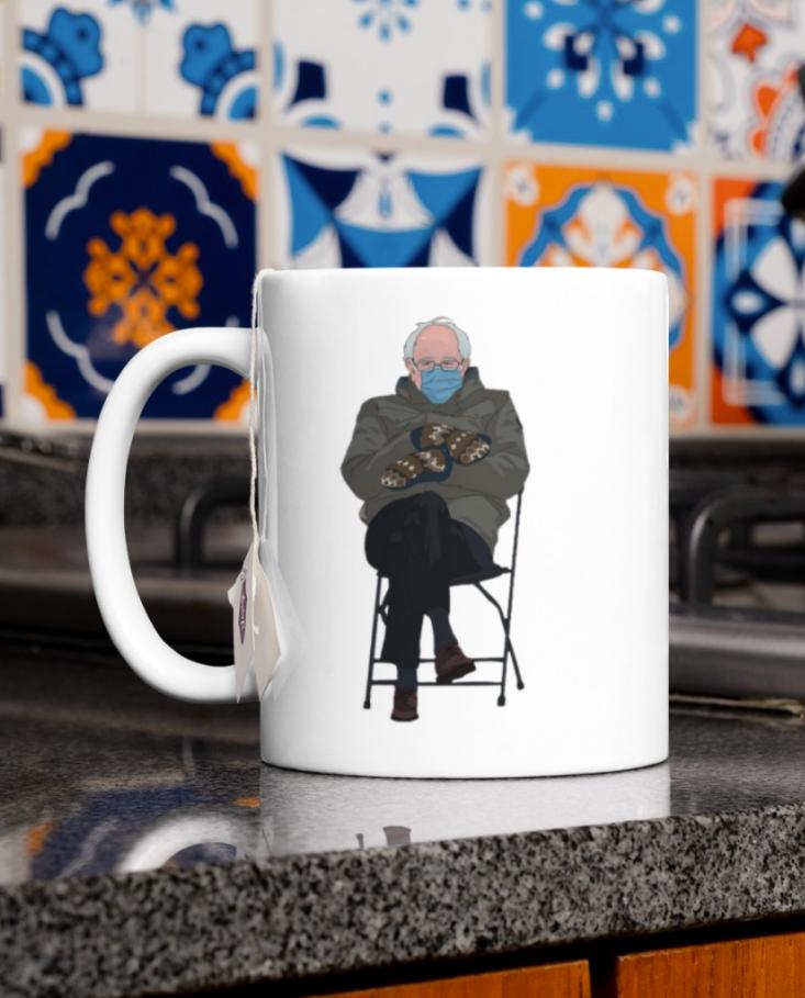 Bernie Sanders meme mug 1