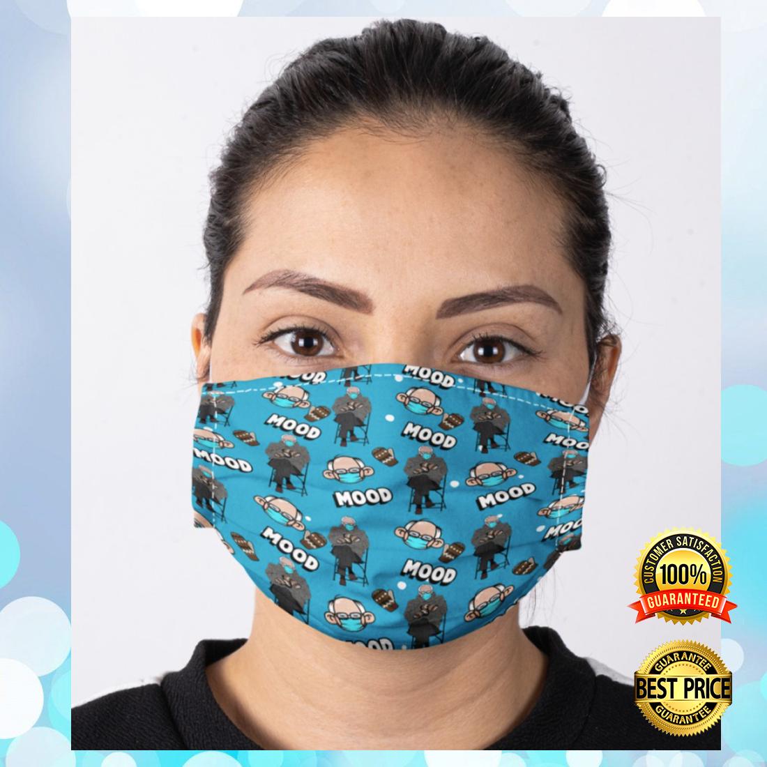 Bernie mood cloth face mask 3