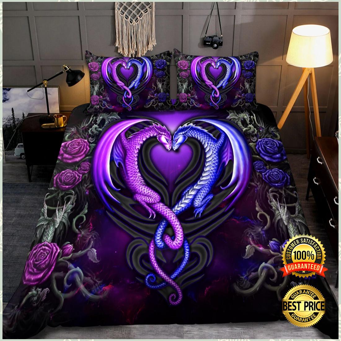 Dragon couple bedding set 3