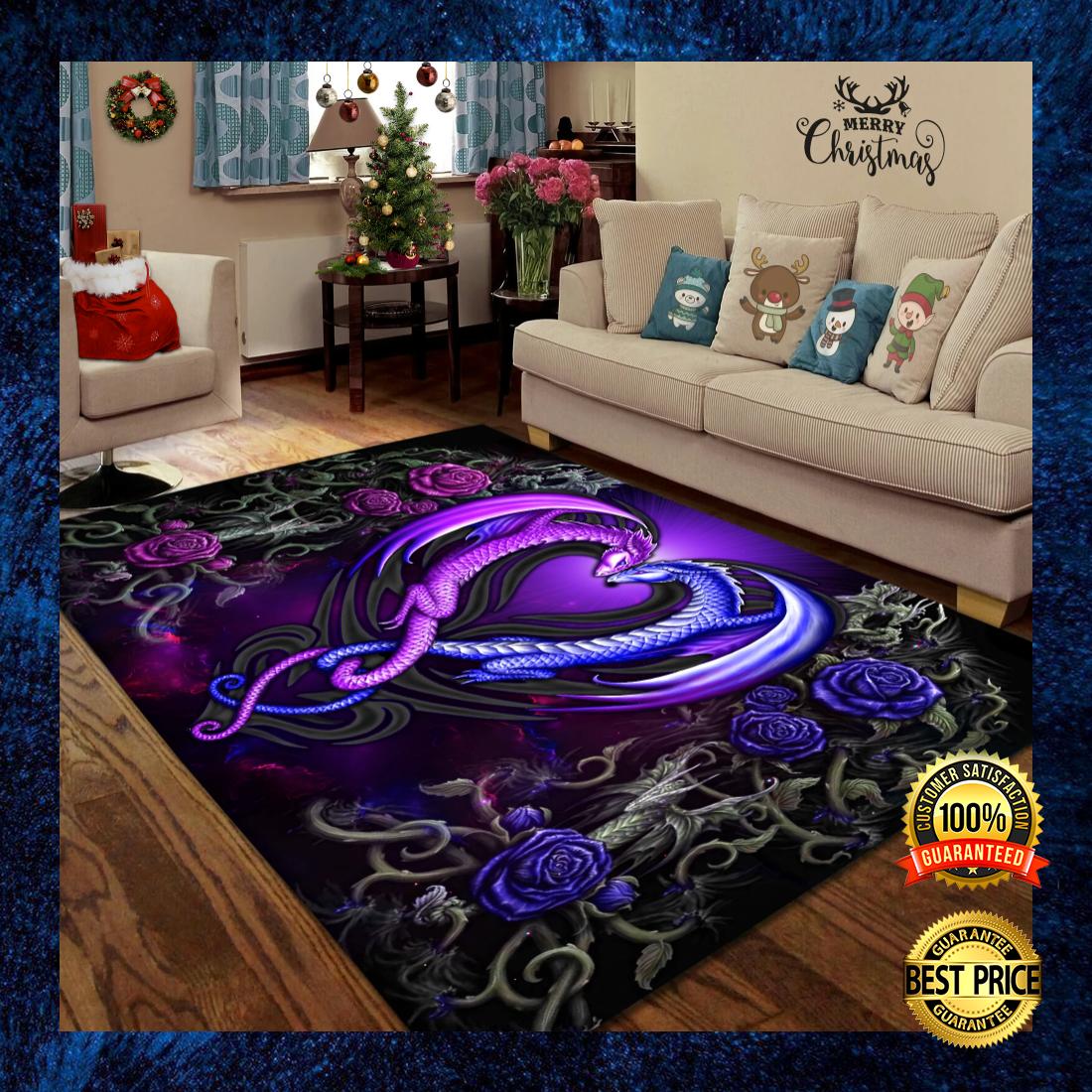 Dragon couple rug 5