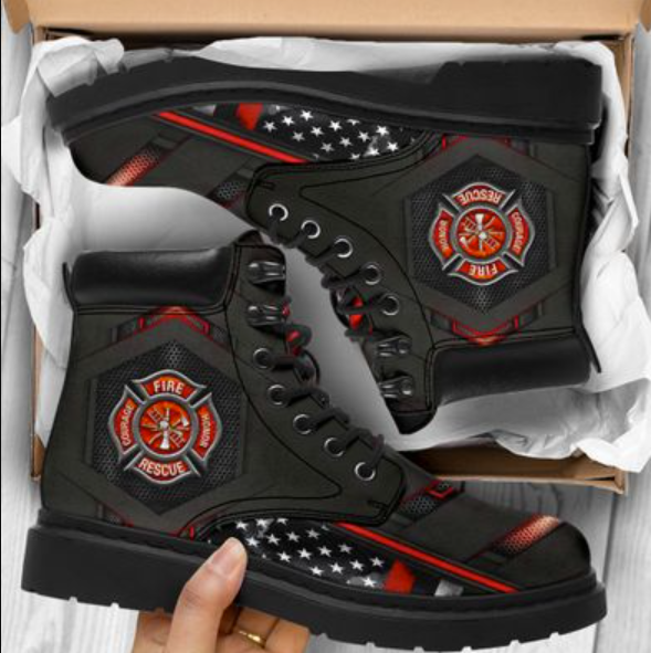 Firefighter timberland boots
