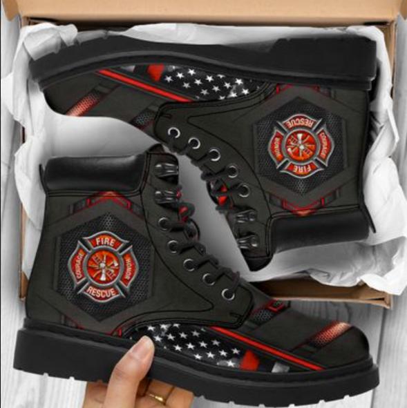 Firefighter timberland boots