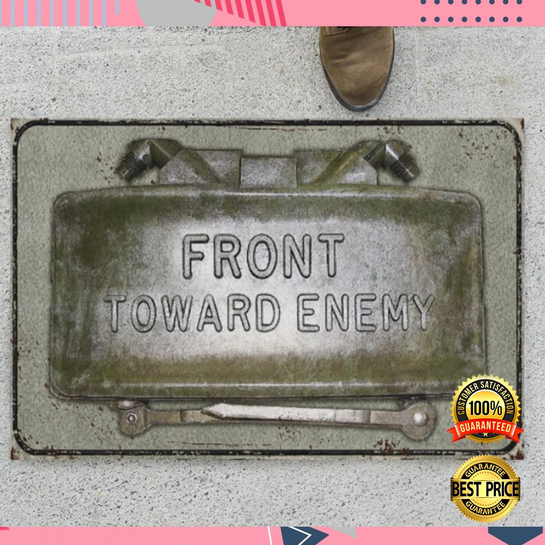 Front toward enemy doormat 4