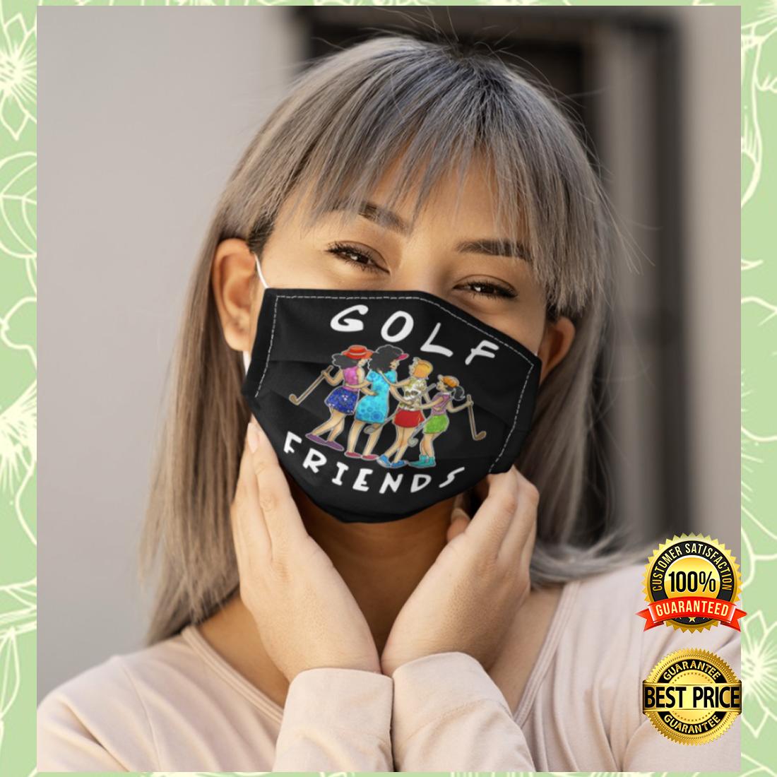 Golf friends cloth face mask 4
