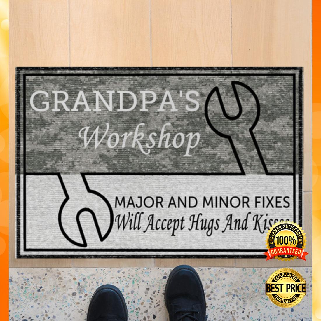 Grandpa's workshop major and minor fixer doormat 4