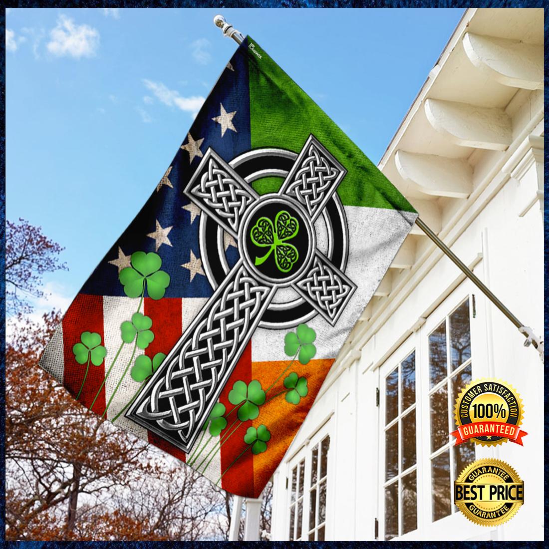 Irish Celtic Knot Cross flag 3