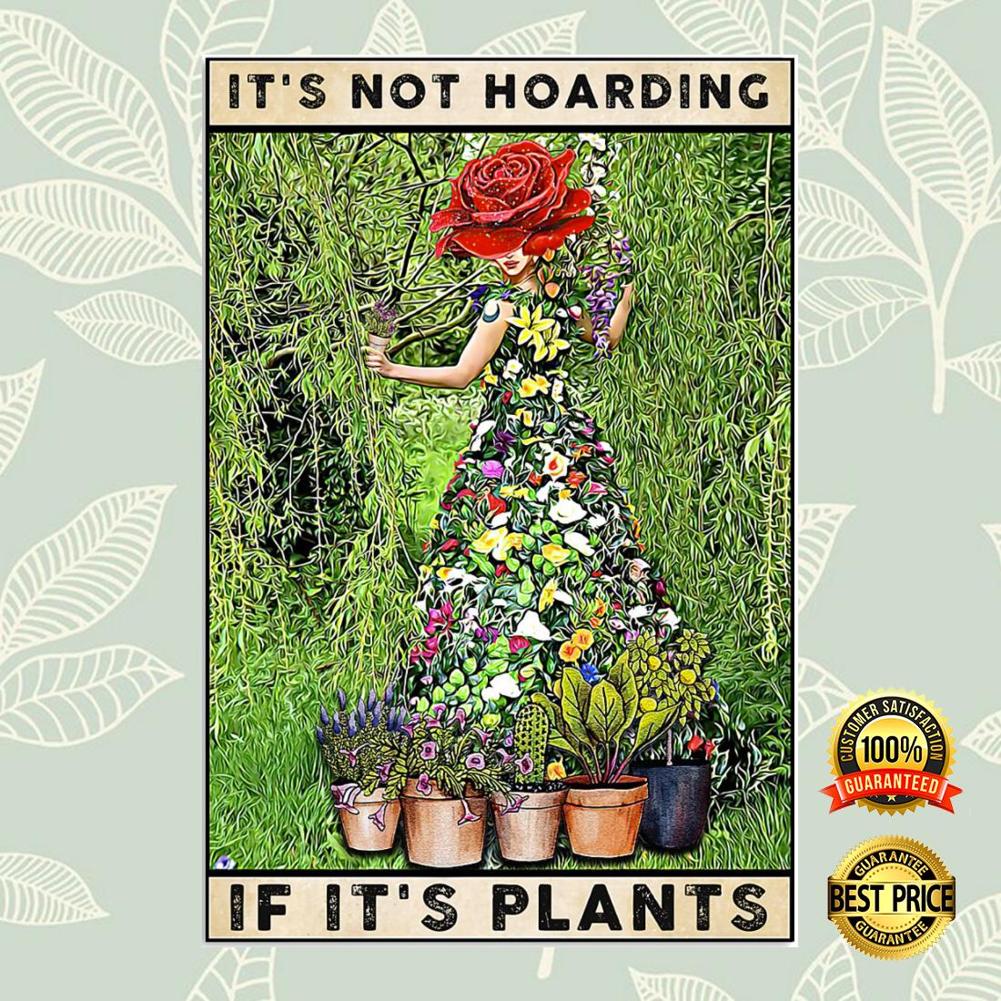 It's not hoarding if it's plants poster 5