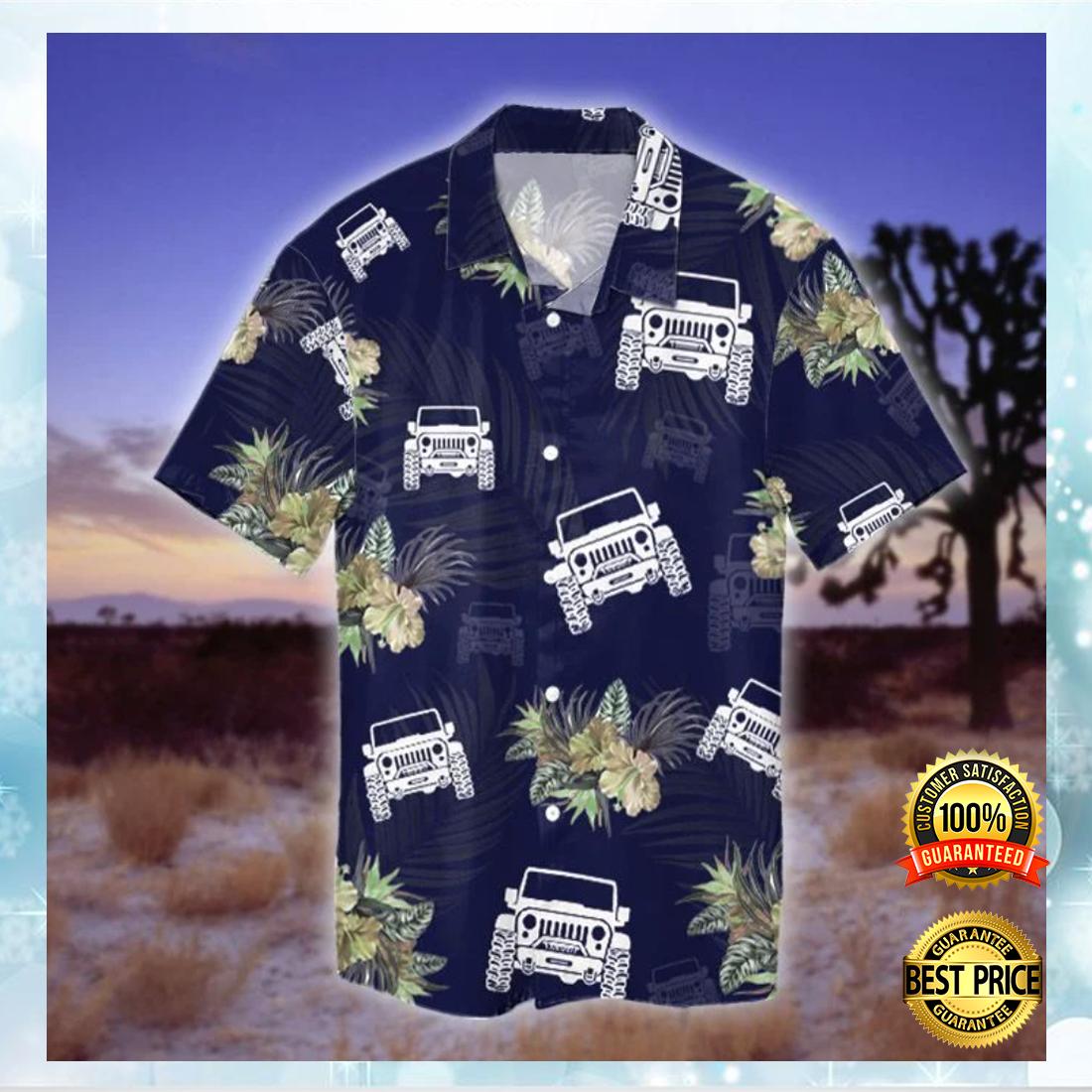 Jeep tropical hawaiian shirt 4