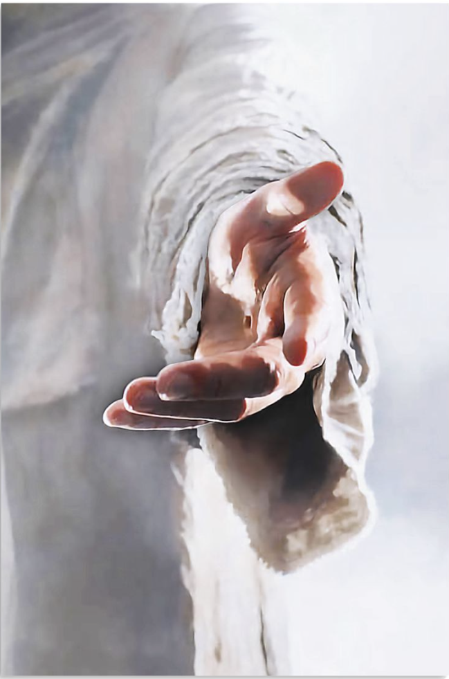 Jesus give me your hand poster