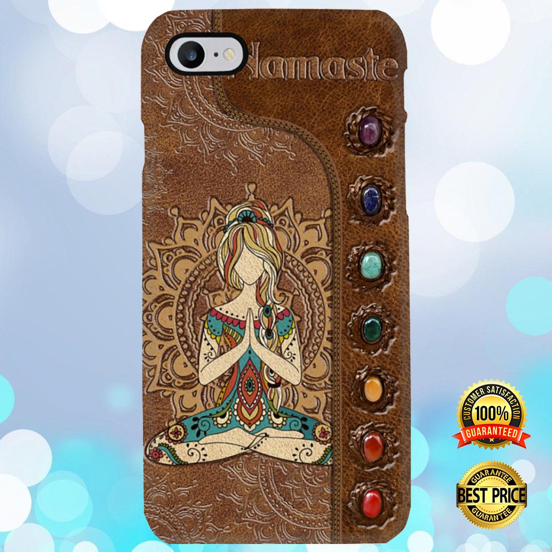 Namaste girl phone case 3
