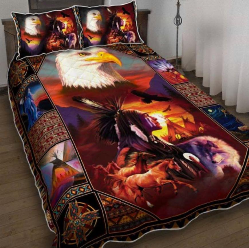Native American Inspired bedding set