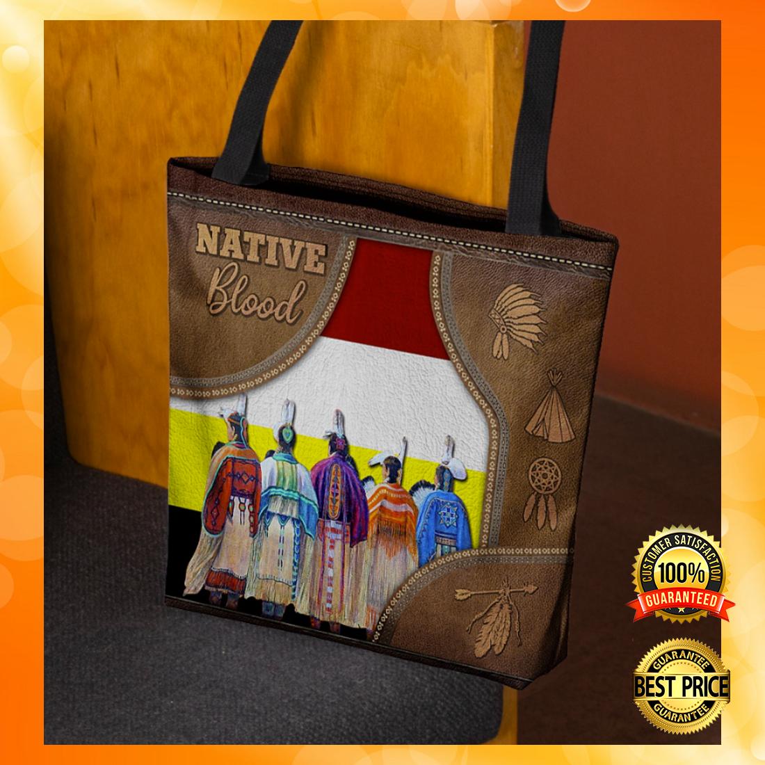 Native blood tote bag 4