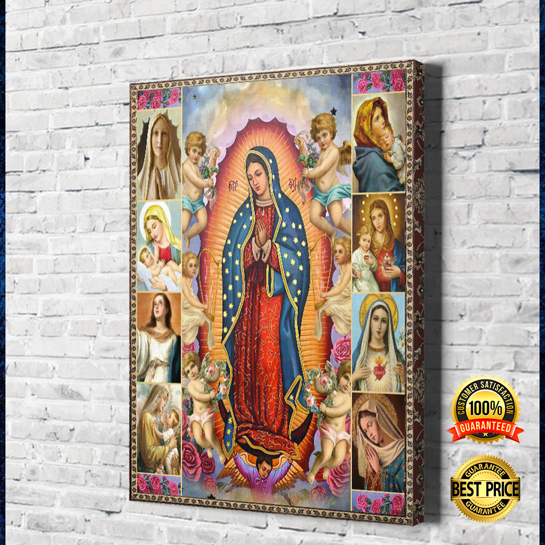 Our Lady of Guadalupe canvas 3