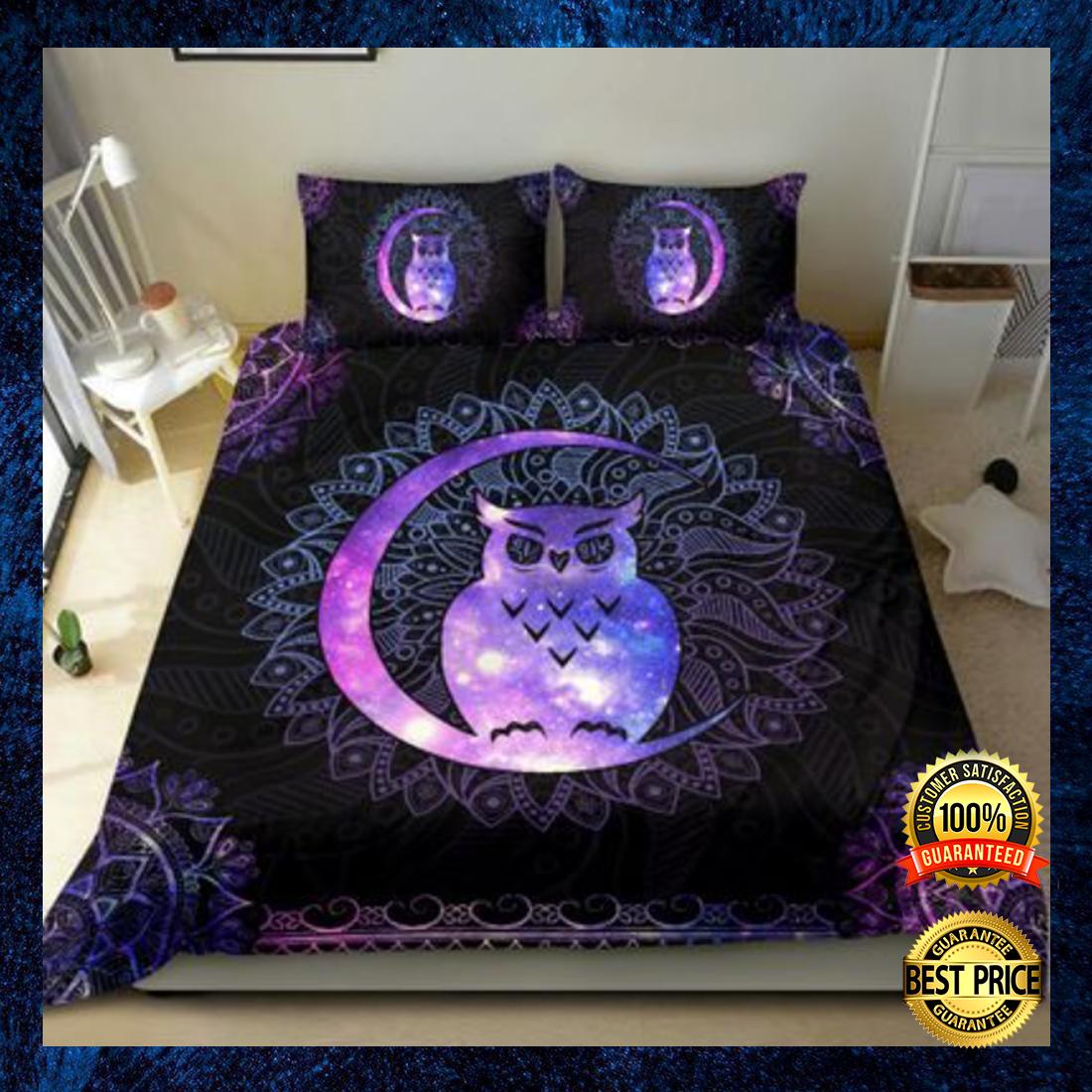 Owl mandala bedding set 3