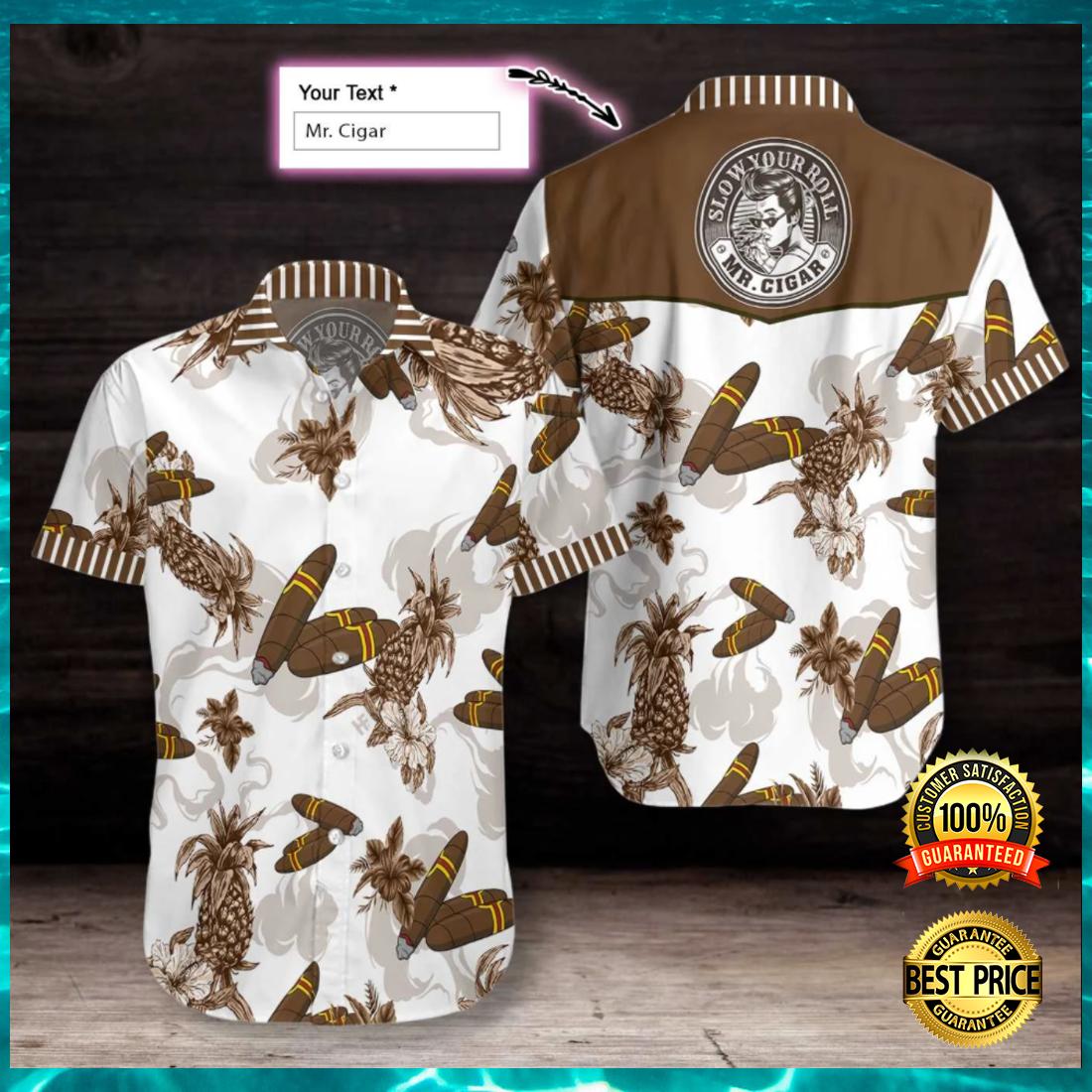 Personalized cigar hawaiian shirt 4