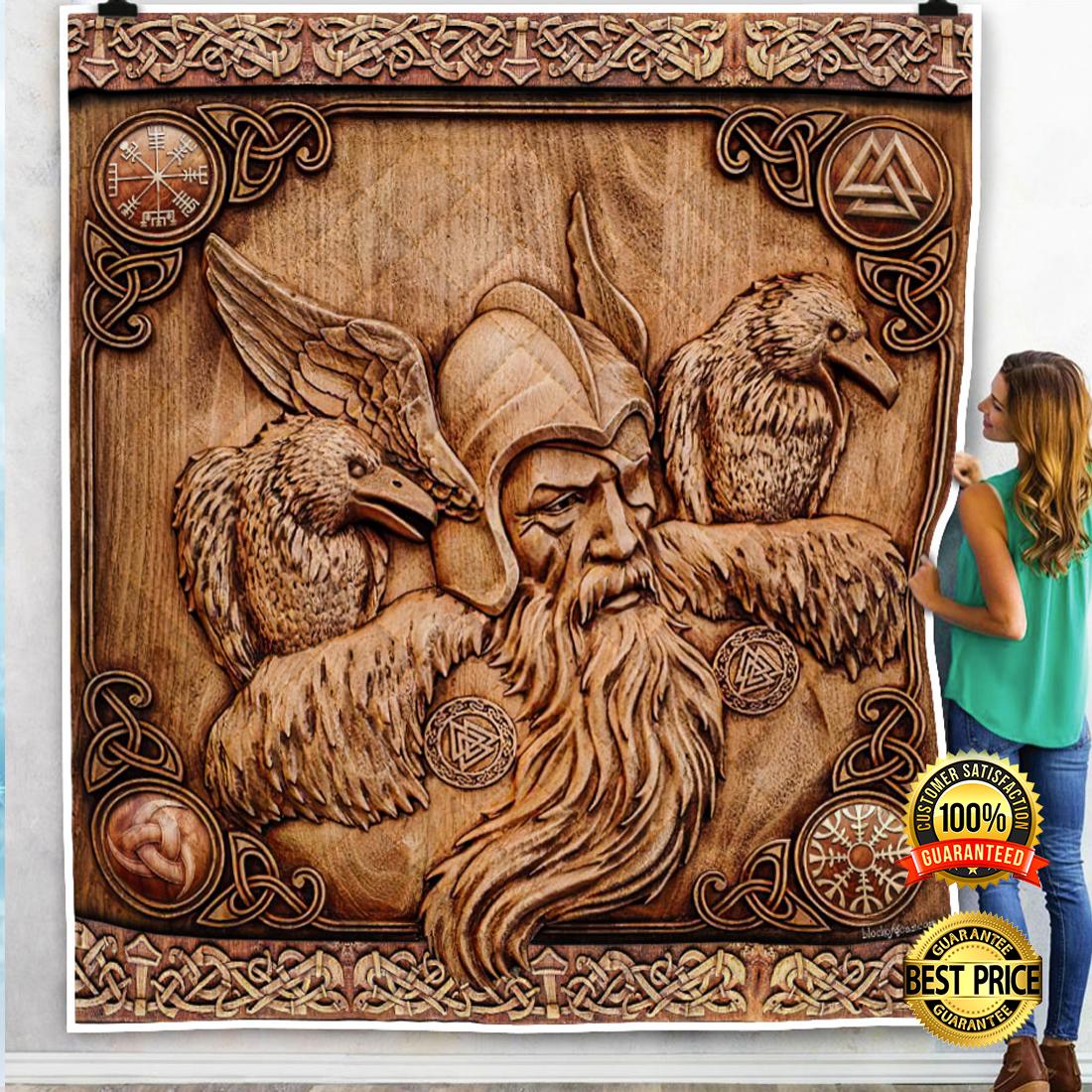 Ravens Of Odin blanket 4