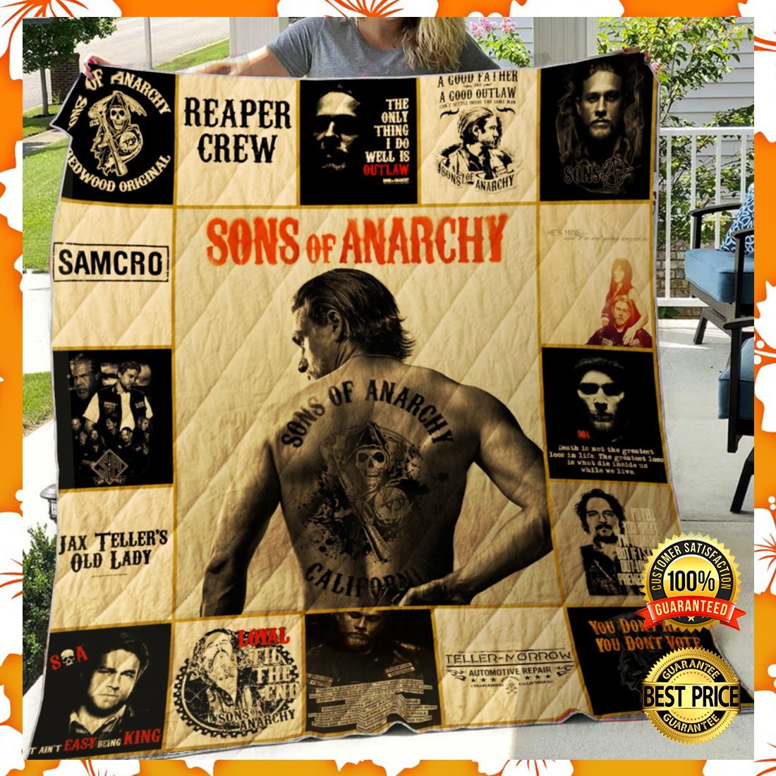 Sons of anarchy quilt 4