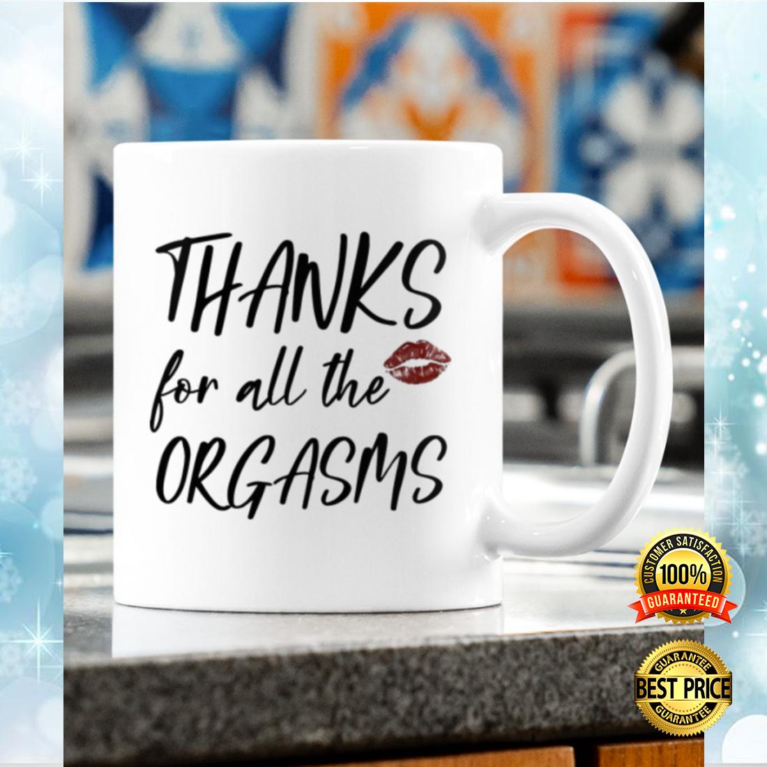 Thanks for all the orgasms mug 4