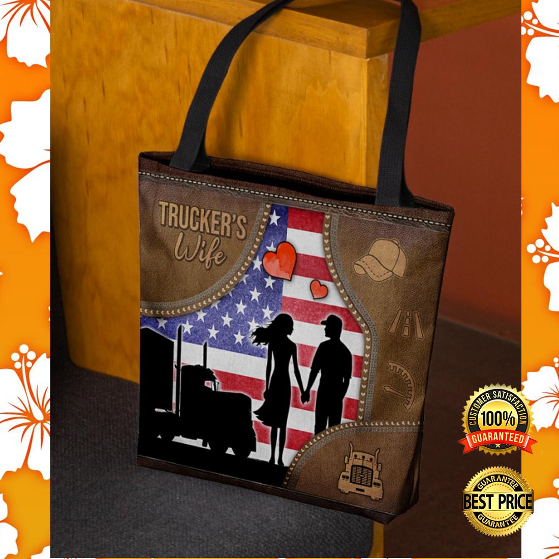 Trucker's wife tote bag 5