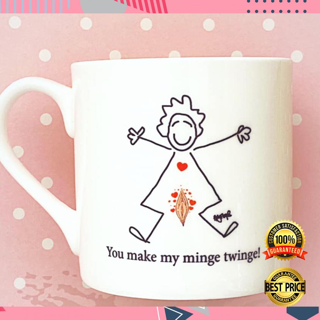 You make my minge twinge mug 4