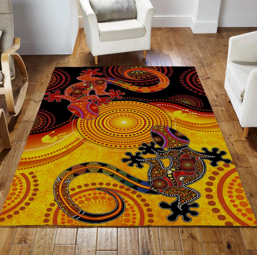 Aboriginal Lizards rug