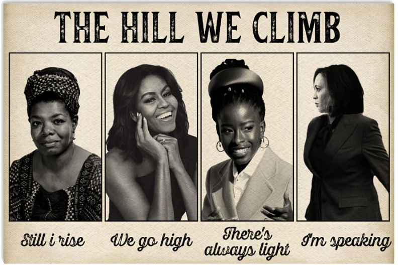 The hill we climb poster