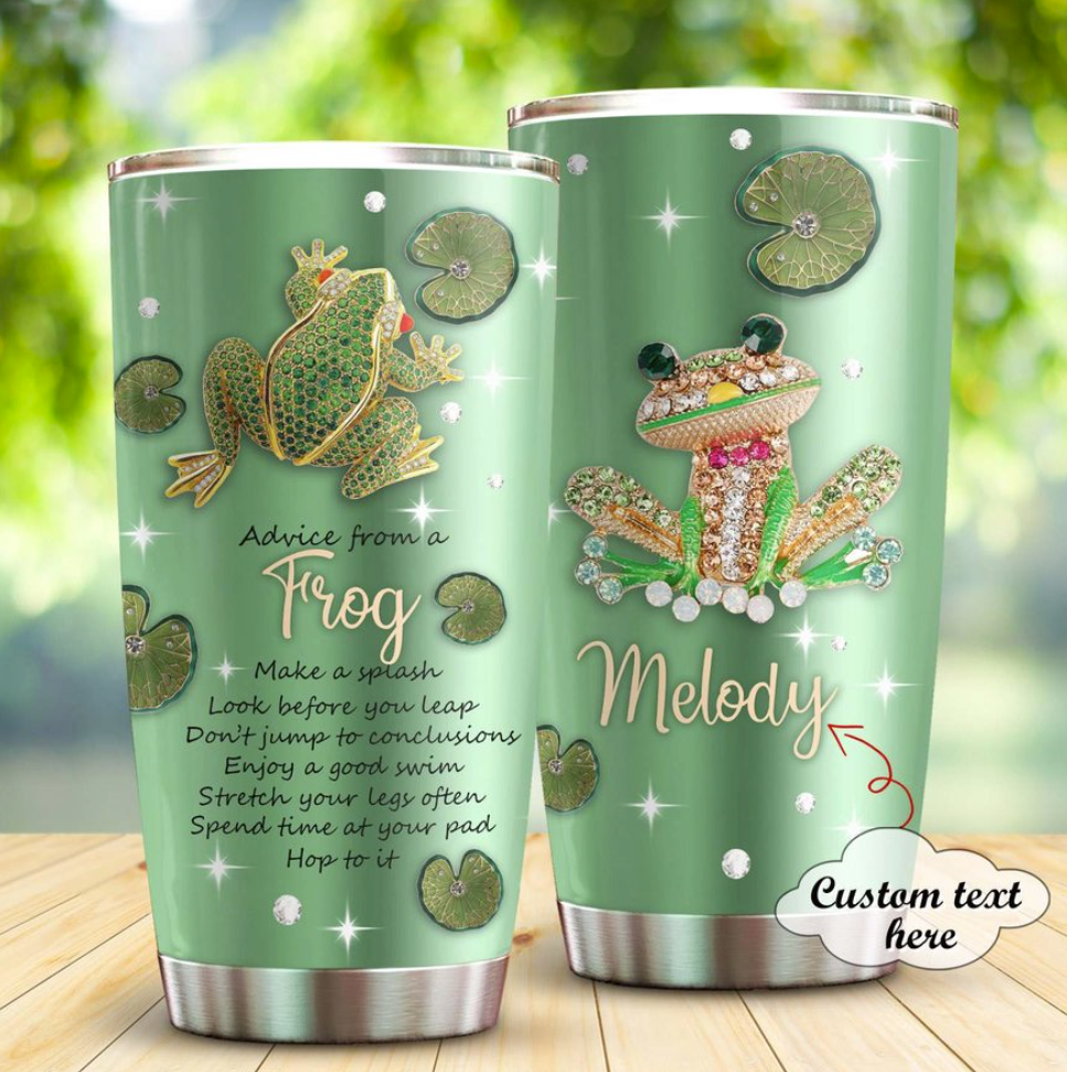 Personalized advice from a frog tumbler